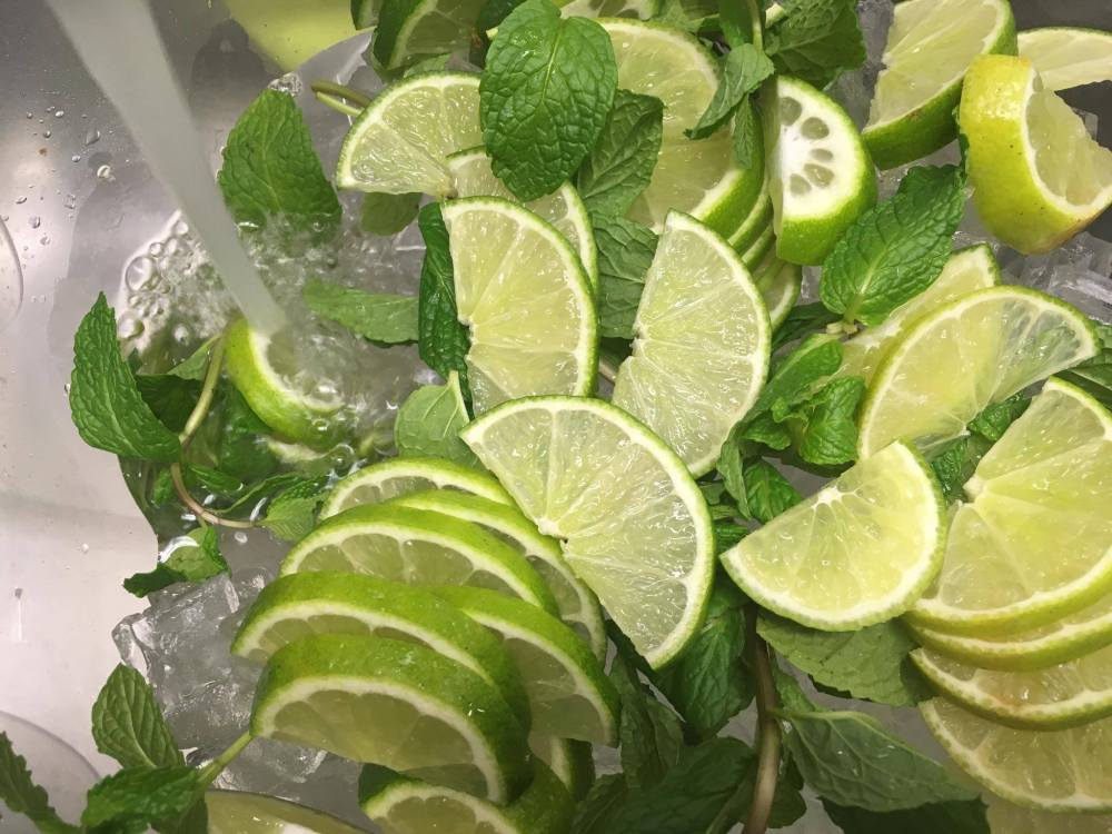 lime-and-mint-infused-water